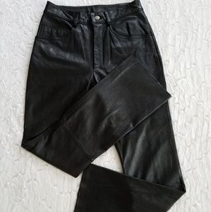 Wilsons Maxima Black Leather Pants